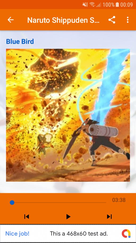 Gizmo Studio App #15 – Naruto Shippuden Songs – Gizmo Studio